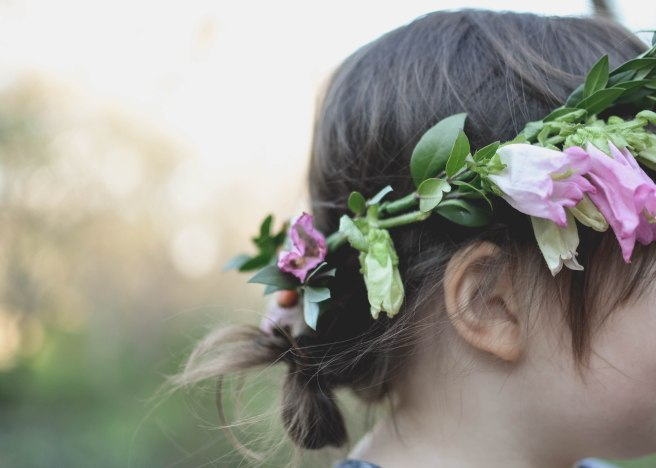 Fisher's Flower Crown Session